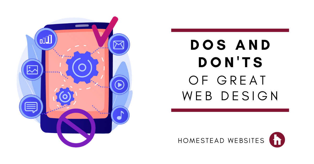 Dos and Don'ts of Great Website Design
