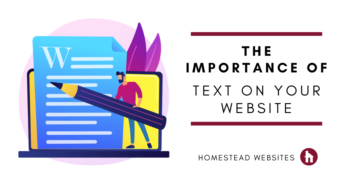 The Importance of Text on Your Website