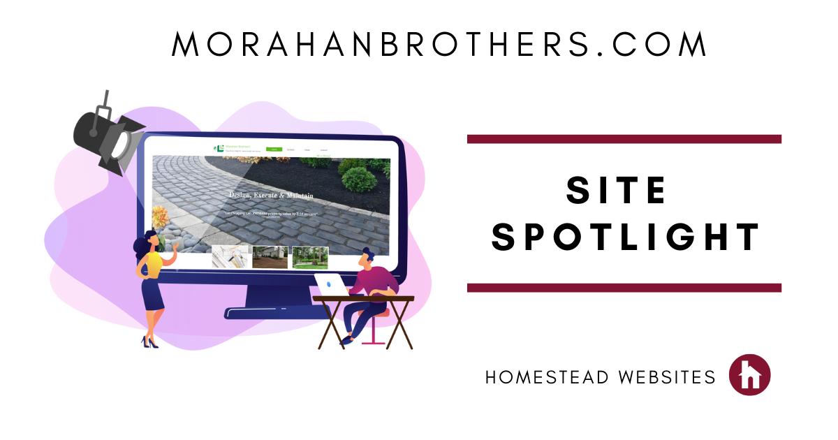 Site spotlight http://www.morahanbrothers.com/