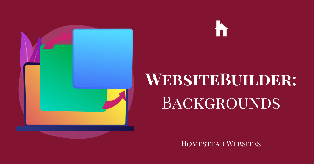 WebsiteBuilder: Backgrounds