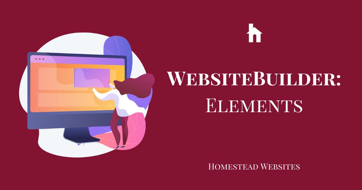WebsiteBuilder: Elements