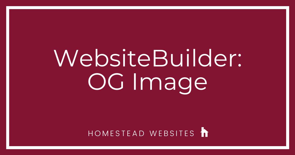 WebsiteBuilder: OG Image