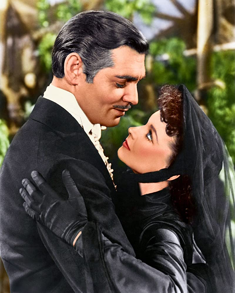 Clark Gable and Vivien Leigh in Gone with the Wind 1939
