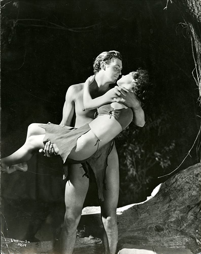 Maureen OSullivan and Johnny Weissmuller in Tarzan and His Mate 1934