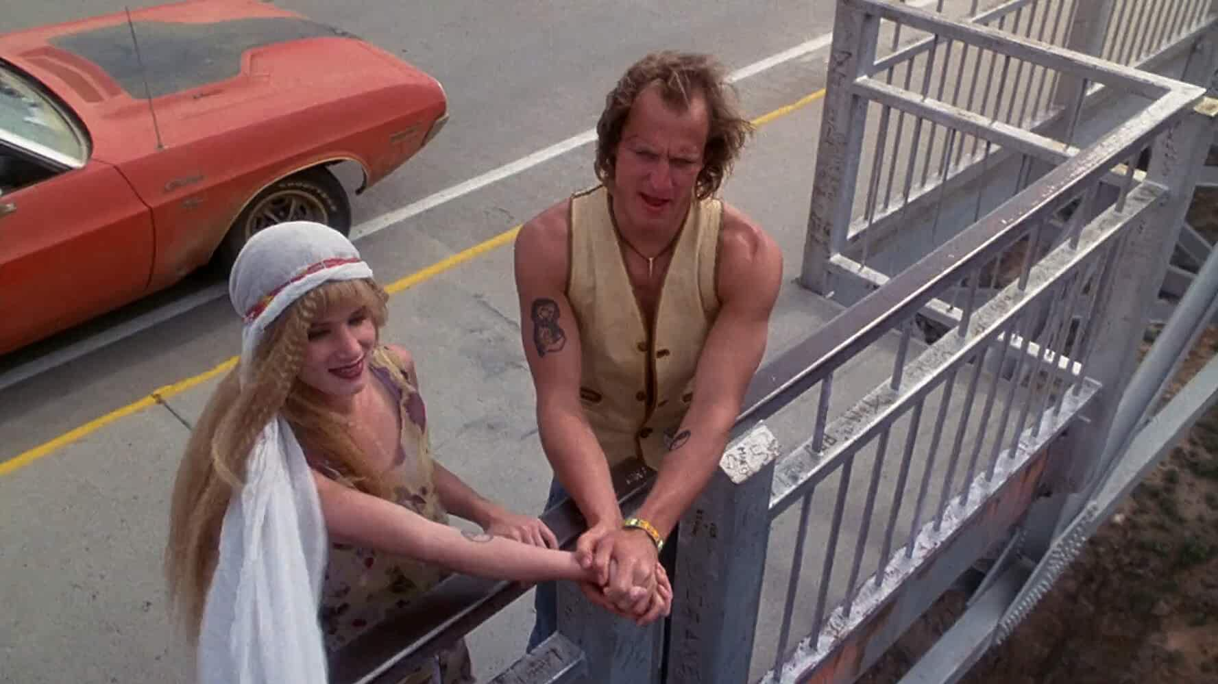 Woody Harrelson and Juliette Lewis in Natural Born Killers 1994