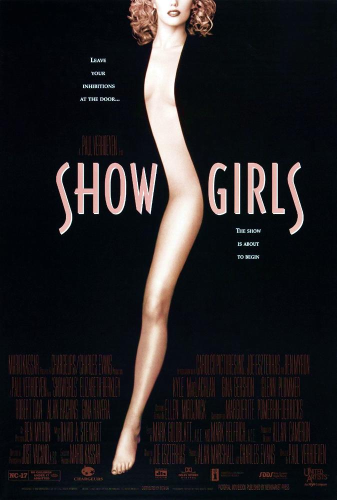 Elizabeth Berkley in Showgirls 1995