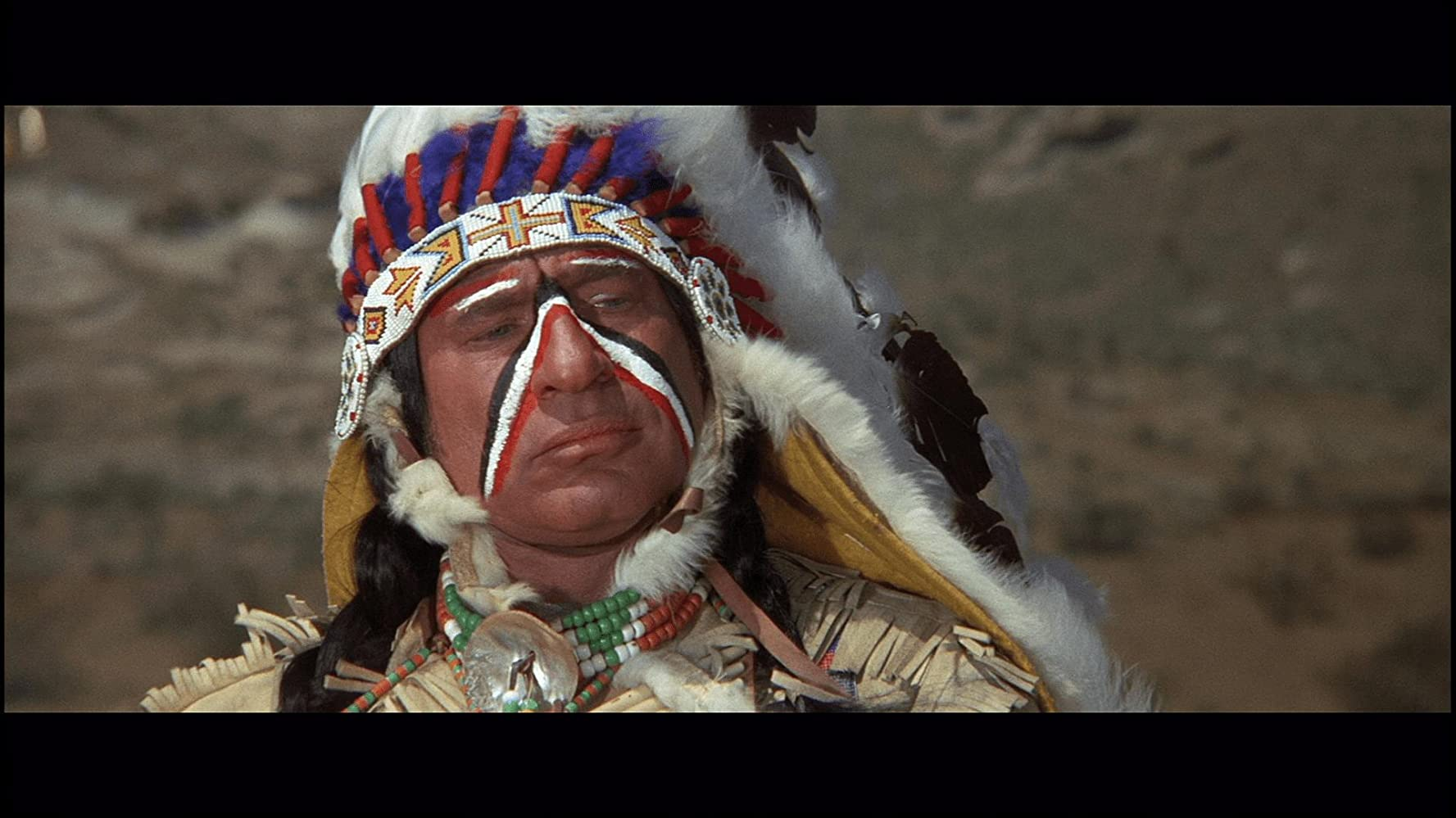 Mel Brooks in Blazing Saddles 1974