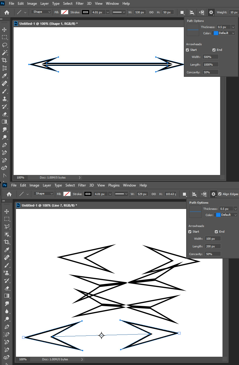 Photoshop 22 0 Where Is Line Weight Width And Pixels Options Adobe Photoshop Family