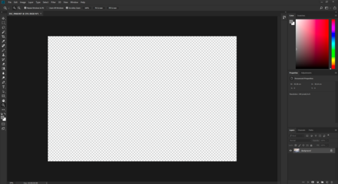 Photoshop Cc 2018 Doesn T Open Images Correctly Just Shows Black Image Or The Transparent Screen Adobe Photoshop Family