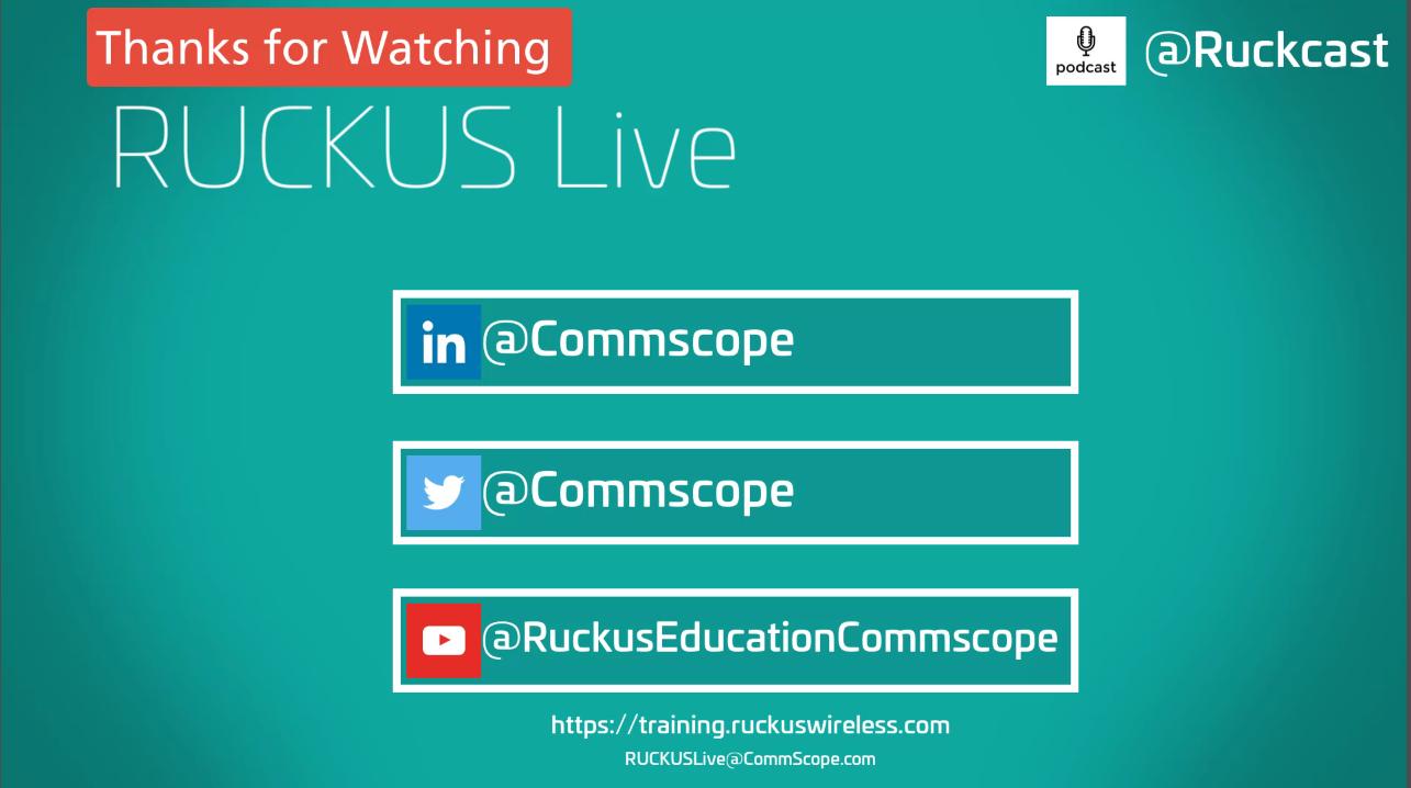 RUCKUS Live is back!