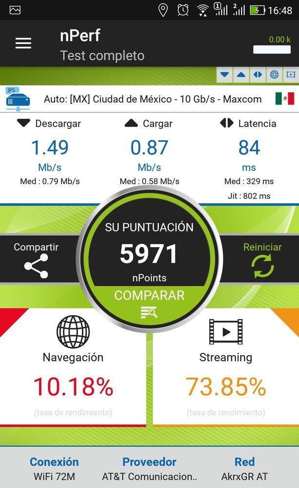 Internet en casa lento | Foro AT&T Mx