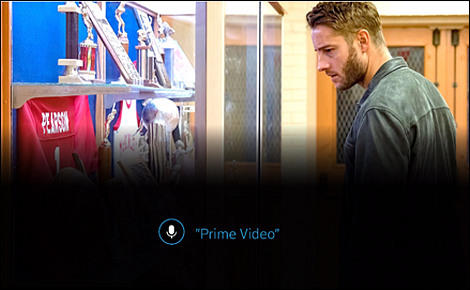 Voice Remote used saying Prime Video