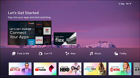 Your Flex TV Box is now ready to use!