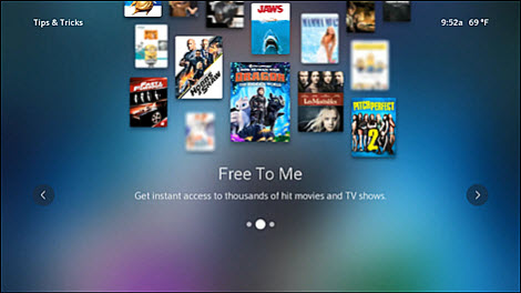 Scroll through the Flex Tips & Tricks to learn more about Flex TV.