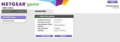 CM500 Modem Status.PNG