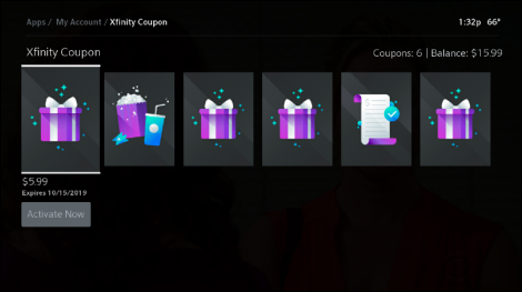 List of available Xfinity Coupons