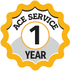 ACE service 1 year