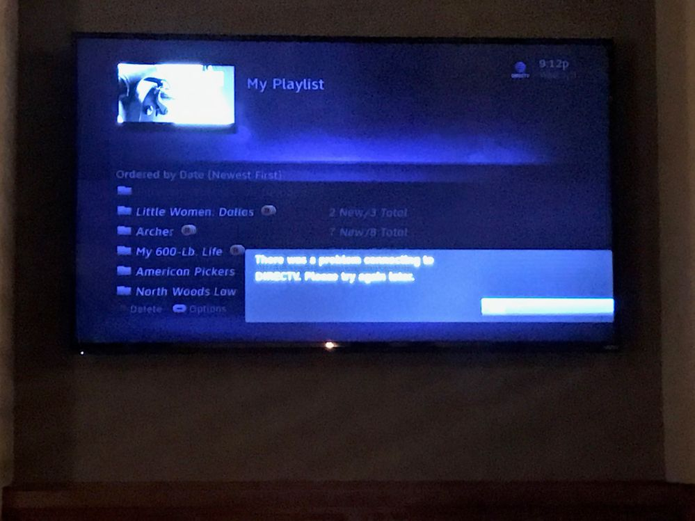 Does Directv Have Internet Service >> Directv On Demand There Was A Problem Connecting To The