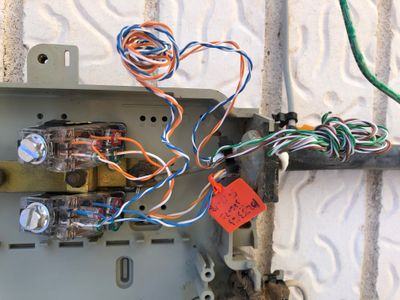 telephone network interface device diagram wiring of at t keptel snl 4600 network interface device at t  wiring of at t keptel snl 4600 network