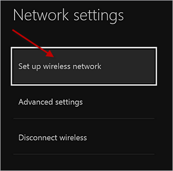Xbox One Connect to Wifi Step 3.png
