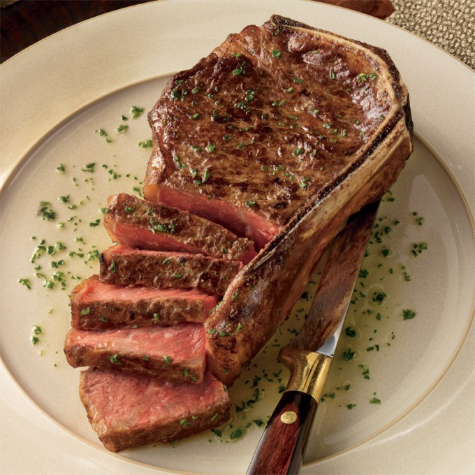 Bone-In New York Strip Steak