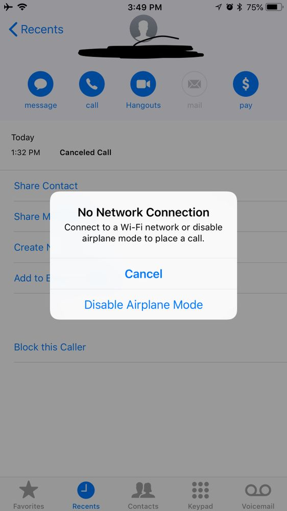 Iphone 8 Plus Wifi Calling Not Working At T Community Forums