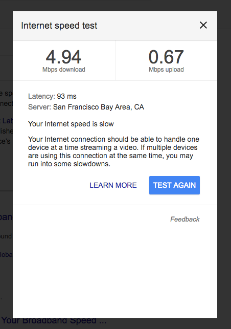 Very Slow Internet Speed At T Community Forums